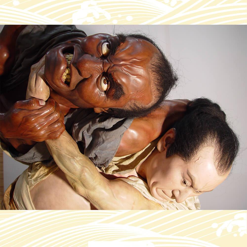 熊本市現代美術館 生人形コレクション「昔はアメリカにいました、今は熊本です」展
