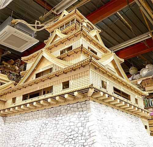 熊本市現代美術館|熊本城 215 特撮美術 天守再現プロジェクト展